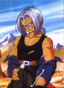Trunks was the first anime character I liked... I believe. I had a crush on him. I still think he's cute even now. <3