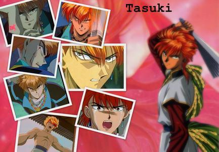 Tasuki from Fushigi yugi!!! :D