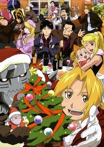 All righty! Here is a Fullmetal Alchemist Christmas Party!..sorry if it's a little small.