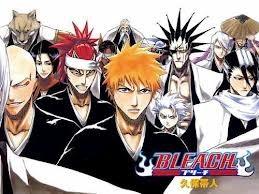 Bleach definetly (can anyone find toshiro i can XD)