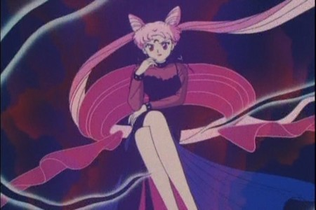 Black Lady from Sailor Moon.