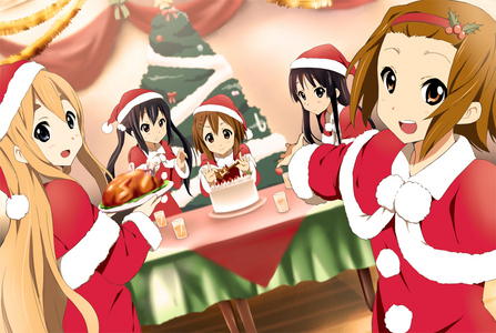 Looks like Yui and دوستوں are celebrating as well. :3