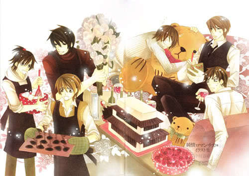 the boys from junjou romantica