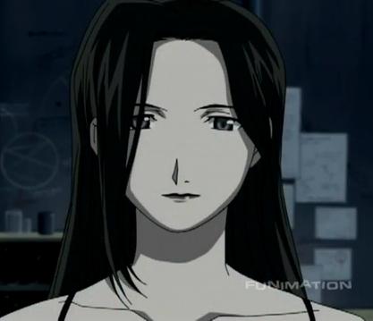Sloth from the 2003 Fullmetal Alchemist anime has black hair!<3