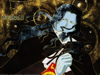 The Count from Gankutsuou: The Count of Monte Cristo
