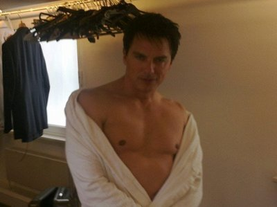 John Barrowman delivering the goods to the audience ;)