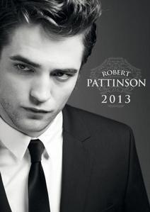 my Robert Pattinson on his 2013 calendar