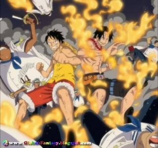Ace and Luffy! <3
