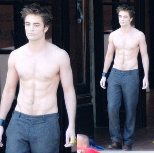 here is my pic of my gorgeous,sexy English Robert Pattinson shirtless.3 words...HOT,SEXY,YUMMY!!!!!!!!!!!!!!!!!!!!!