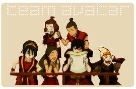 I guess we always see in the montrer how much aang's Friends support him and support each other, like if they were not only Friends but also a family.