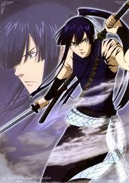 Kanda from D. Gray-Man is pretty violent XD