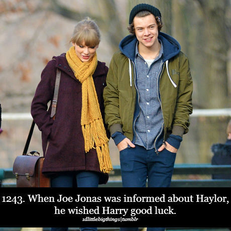Taylor dating harry