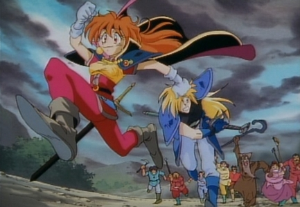 Lina and Gourry from Slayers.