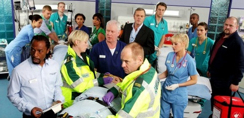 Casualty - Because i প্রণয় all the characters and something in my mind is telling me its my favourite tv প্রদর্শনী ;)