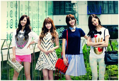 Sooyoung then Seohyun,Yuri and Jessica. So far