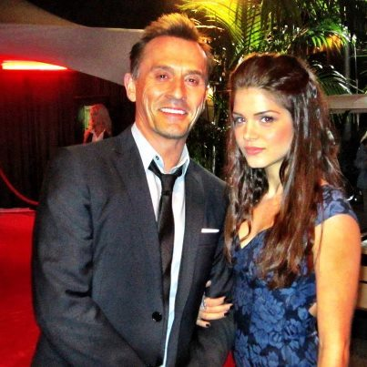 Rob and Marie Avgeropolous She is very beautiful too, but she's not Jodi :(