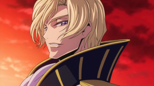 Prince Schneizel from Code Geass.