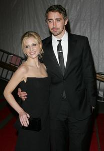 Lee Pace and Sarah Michelle Gellar he's so tall ♥!!!