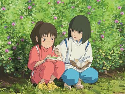 Haku x Chihiro - Sen to Chihiro no Kamikakushi (Spirited Away) i प्यार them. <3 <3 <3 no reason =)))))))))))))))))))))