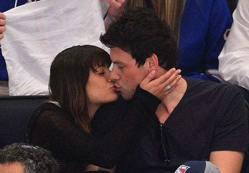 Noooo! Corey Monteith isn&#39;t Gay! He is currently dating Glee Star Lea Michele 