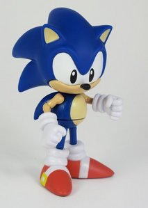 Classic Sonikku za Hejjihoggu! (Sonic the Hedgehog) *has 5-inch classic Sonic Далее to me* Mine is a lighter blue, though.