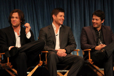 Jared Padalecki, Jensen Ackles and Misha Collins