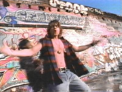 Matt's brother, Joey with an open shirt. <33