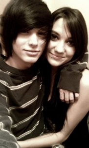 I don't know who that is but they look cool c: Mine is my girlfriend Kelsey and I! ^_^ <3