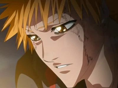 Ichigo can be quite sensetive sometimes. He beats himself up pretty badly when he does manage to lose a fight and he always looks out for his 프렌즈 and such. He has also had to handle a lot of complex situations that should have been frightening, but weren't, due to his never-say-die attitude.
