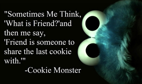 Does Cookie Monster count?