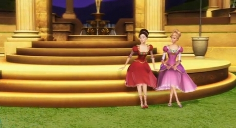 Barbie in the 12 dancing princess oder Barbie princess and the popstar