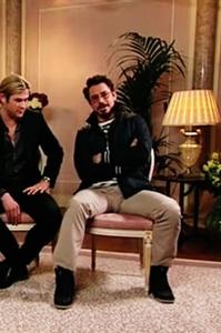 LOL Downey . . . - wanna sshow us something! ?? :P