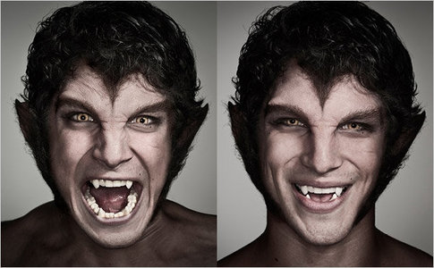 Tyler Posey! trying to be scary, but he kind of kills it in the 秒 pic