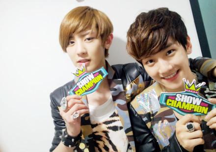 in all exo member its baekhyun.. but in k its also baekhyun.. in m its xiumin@bao zi.. my fav cp is baekyeol..