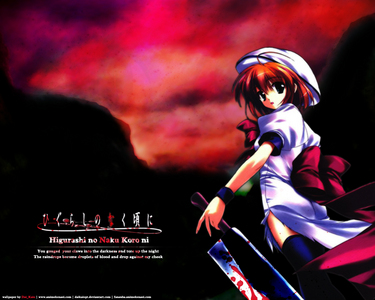 For horror you should try Higurashi no naku koro ni