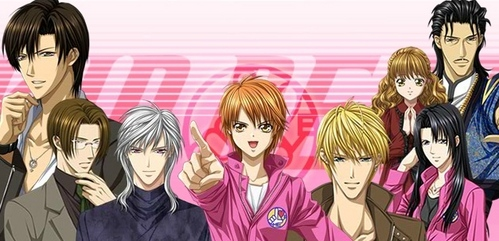 out of the four i'd say fairy tail and one of my Favorit shows is Skip beat!