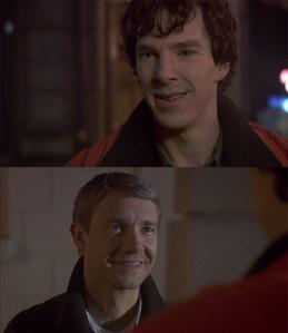 Sherlock And John Bbc Laughing
