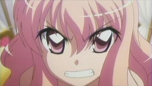 Louise from Zero no Tsukaima.