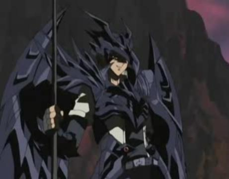 Joey Wheeler from Yu-Gi-Oh! in the Red-Eyes Black Dragon Armor