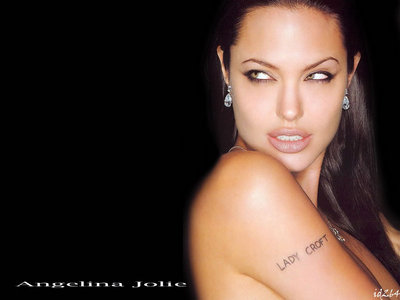 Angelina Jolie. I like her もっと見る meatier looks when her hair was long and dark.
