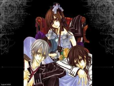 Yuuki Cross/Kuran - vampire knight