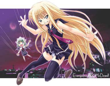 Evangeline from Mahou Sensei Negima!