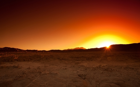 The Sahara is nice.