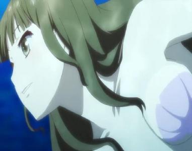 Hanasaku Iroha The girl in the image is Nako Oshimizu as a mermaid in a dream sequence.