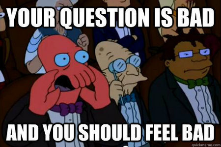 Zoidberg will tell あなた what he thinks...