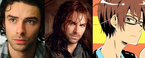I'm in amor with three. Kili from The Hobbit and Mitchell from Being Human. Also Romano from Hetalia.