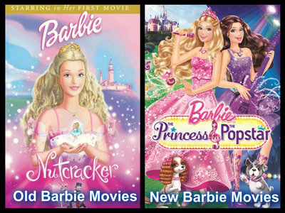 I guess the old Barbie Filme are better than the new Barbie movie. Perhaps, the old Barbie Filme in terms of Animation is less than the new Barbie movie, but the story in the old Barbie movie Mehr realistic, not too wordy, and Mehr adventurous, and a lot of good character the main character exemplary While the new Barbie movie in my opinion less interesting story, and a bit boring to watch. It is not clear what is to be conveyed from the story. As the Princess and Popstar, I was disappointed with the movie. Because the story is not clear, it is not well targeted. Although the new Barbie movie has a good Animation quality than the old one, I still prefer the old Barbie Filme