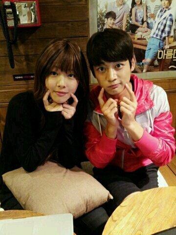 Choi JinRi and Choi MinHo. <3