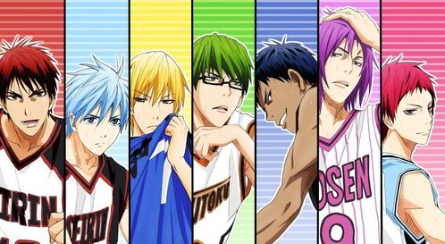 Kuroko no basket to be honest im not a big 粉丝 of 篮球 哈哈 not good at it either but after watchin this 日本动漫 i learned alot about 篮球 and how fun it is and even dough i suck at it im do my best like Tetsu-kun:D:D