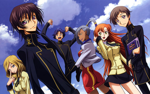 I can't really decide on just one as there are so many great 日本动漫 out there, but I'll post one of my 最喜爱的 anime: Code Geass